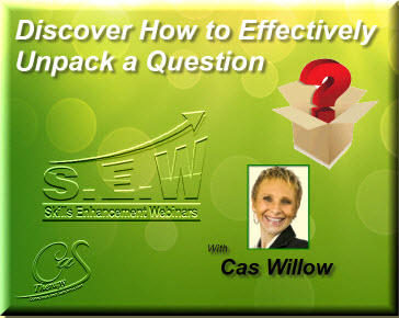 Discover How to Effectively Unpack a Question Webinar
