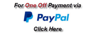One Off Payment Paypal